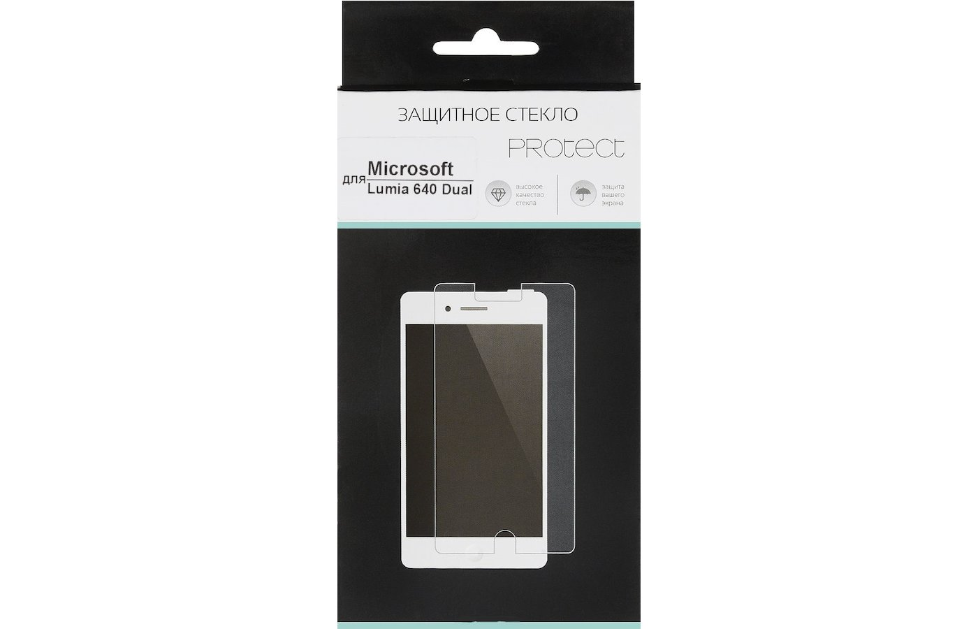 Стекло Protect пленка для Microsoft Lumia 640 Dual