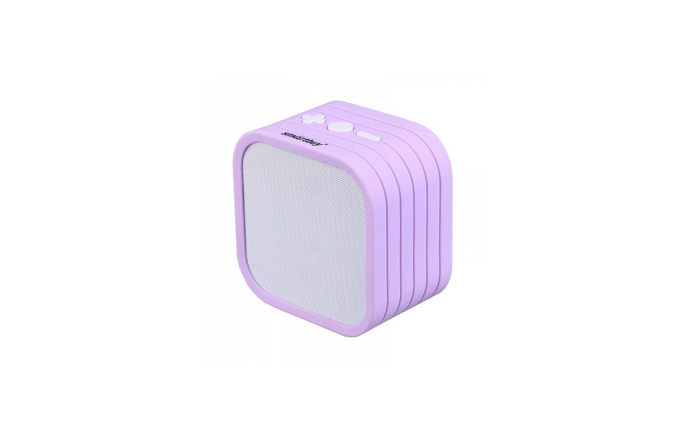 Колонка Smartbuy TEDDY бело-фиолетовая