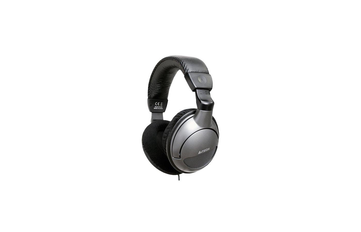 Наушники с микрофоном проводные A4Tech HS-800