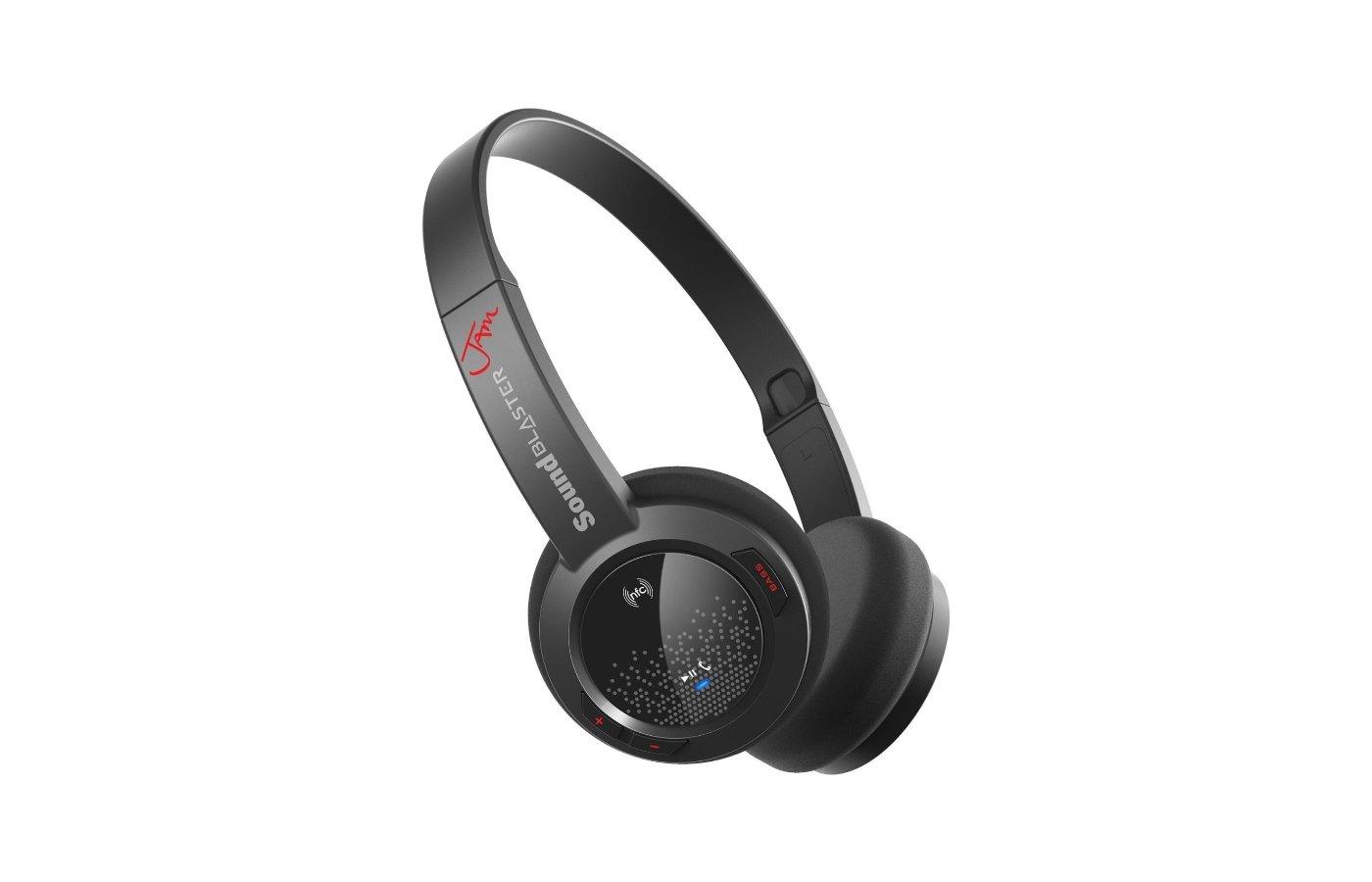 Наушники с микрофоном проводные Creative Sound Blaster Jam черный накладные (оголовье) BT