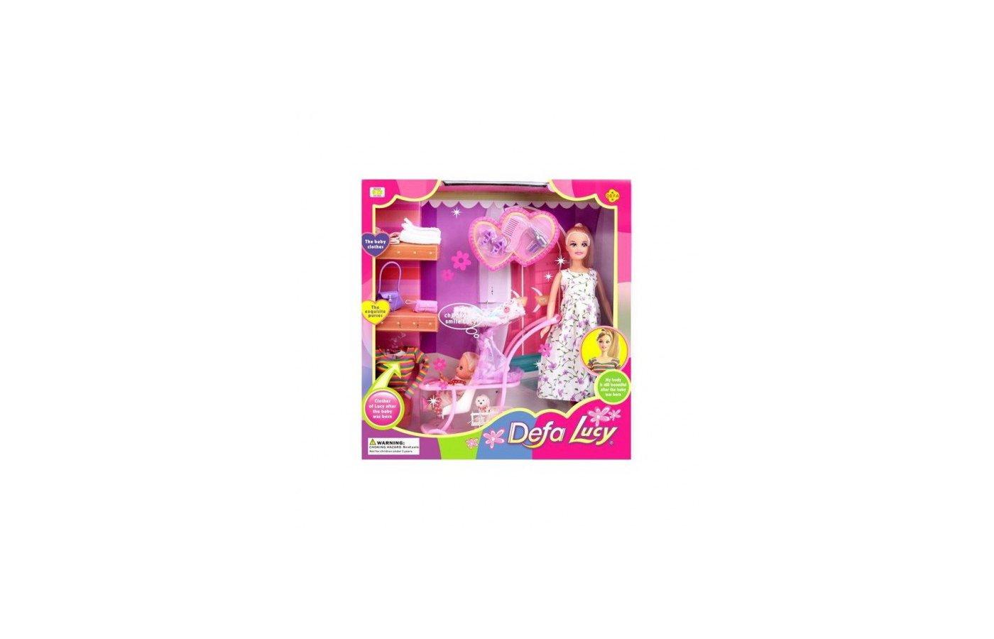 Кукла DEFA LUCY 8049 Модная семья