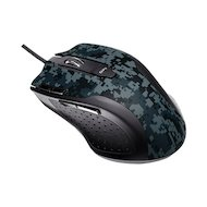 Мышь проводная Asus Echelon серый/черный лазерная (5600dpi) USB2.0 игровая (6but)