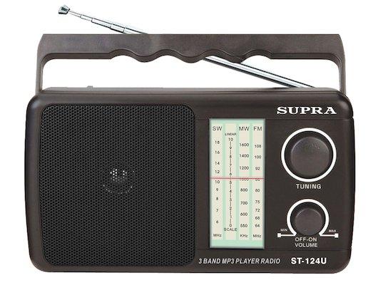 Радиоприемник Supra ST-124U