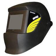 Сварочный аппарат FoxWeld Корунд черная со стеклом C5 Маска сварщика