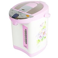 Чайник электрический  DELTA LUX DL-3031 белый цветы