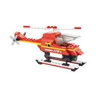 Фото Конструктор Sluban M38-B0219 Вертолёт и пожарная машина 211дет.