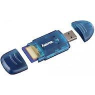Фото Картридер Hama H-114730 USB2.0 синий