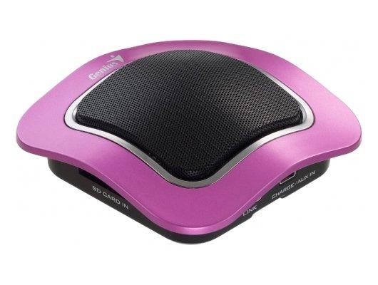 Компьютерные колонки Колонки Genius SP-i400 Mono розовый 2Вт портативные