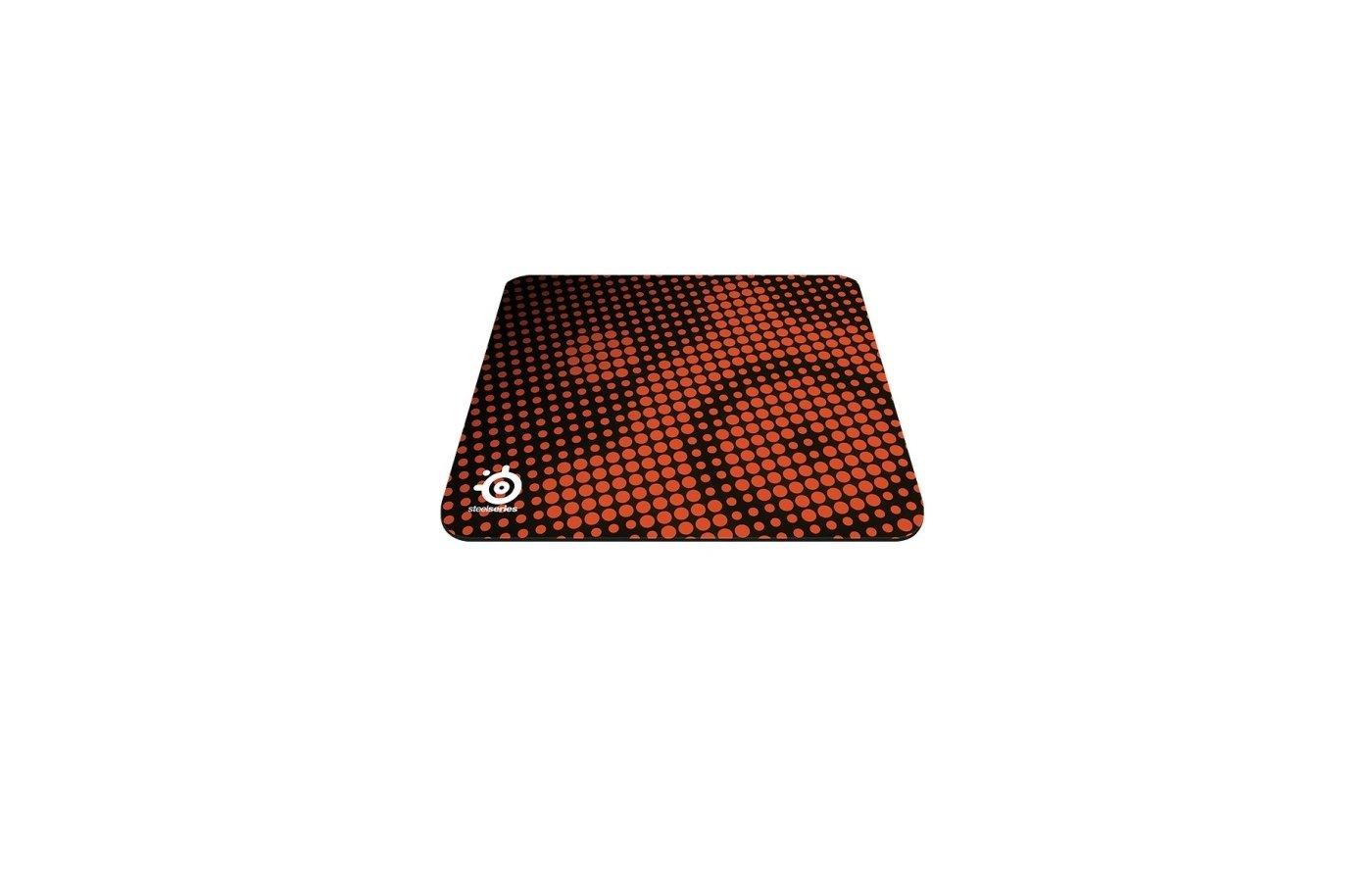 Коврик для мыши Steelseries QcK Heat Orange 67279 оранжевый/черный