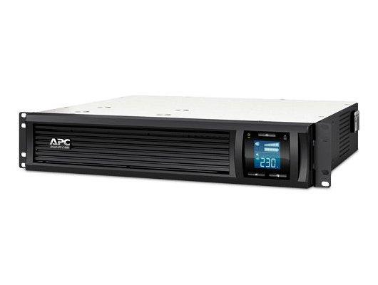 Блок питания APC Smart-UPS C SMC1000I-2U-W3Y 600Вт 1000ВА черный