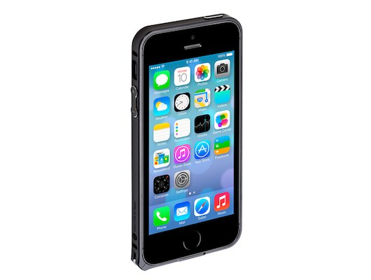 Чехол Deppa Alum iPhone 5/5S/SE черный
