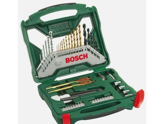 Расходные материалы для инструментов BOSCH X-LINE-50 Набор бит и сверл