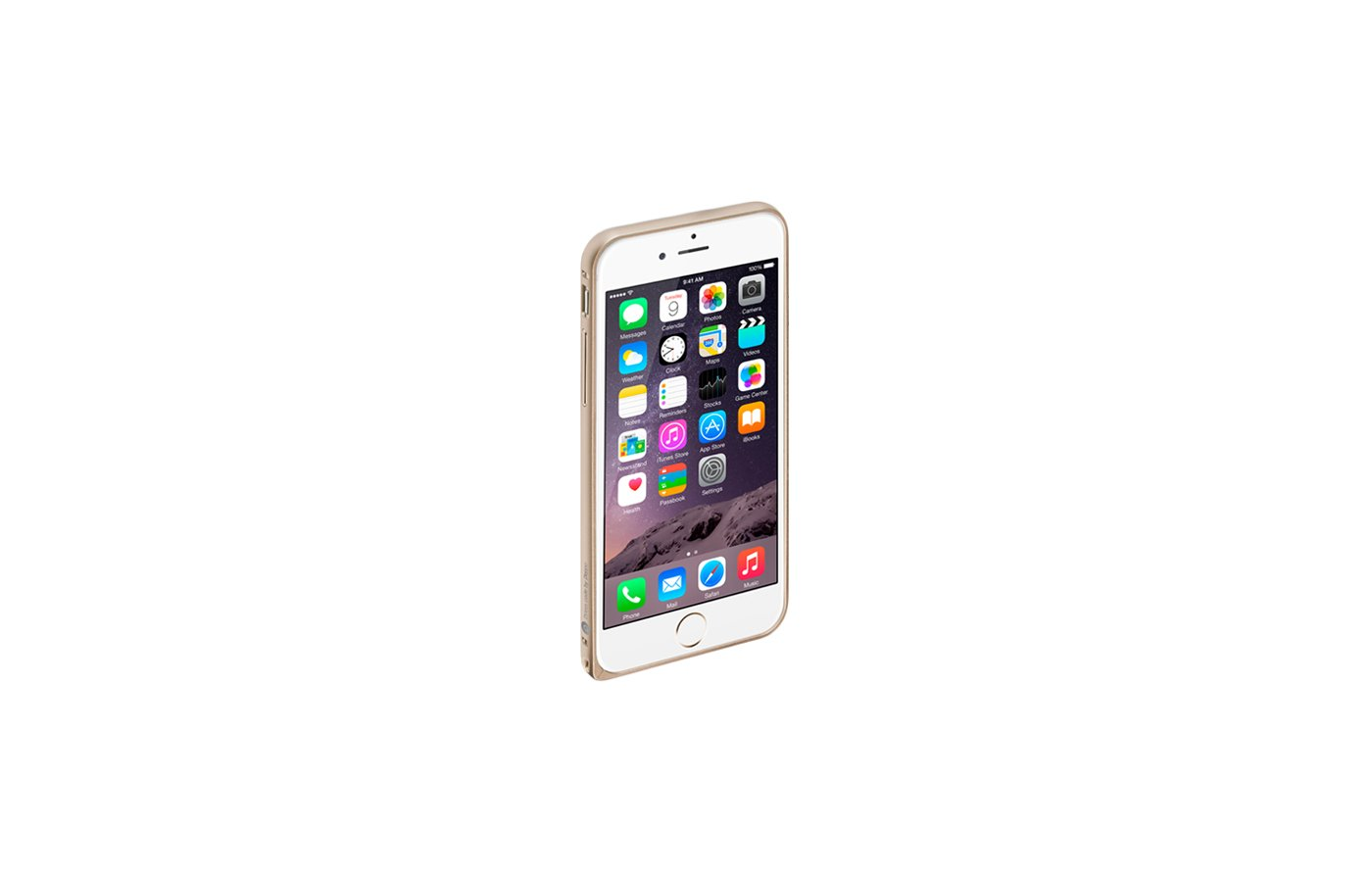 Чехол Deppa Alum Bumper для iPhone 6/6S золото
