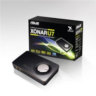 Фото Звуковая карта Asus USB Xonar U7 (C-Media 6632A) 7.1 Ret