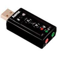 Фото Звуковая карта Hama USB H-51620 (C-Media CM108) 7.1 oem