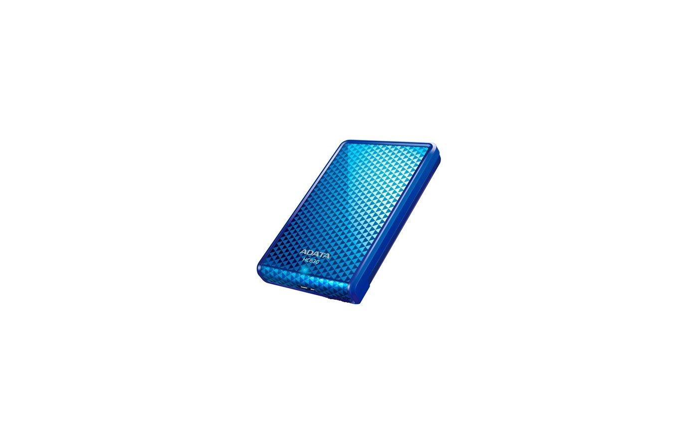Внешний жесткий диск A-Data 1Tb AHC630-1TU3-CBL blue
