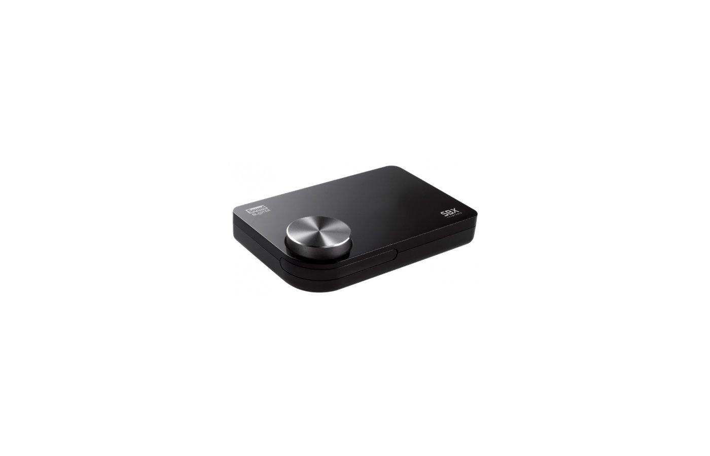 Звуковая карта Creative USB X-Fi Sound Blaster Surround 5.1 Pro (X-Fi) 5.1 Ret