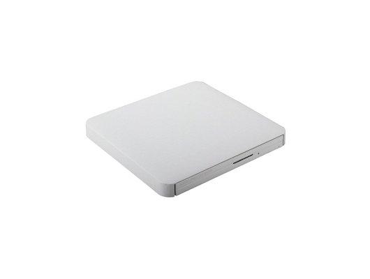 Привод DVD-RW LG GP80NS60 серебристый USB slim ultra slim M-Disk Mac внешний RTL