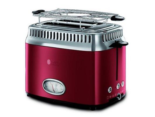 Тостер RUSSELL HOBBS Retro Ribbon Red 21680-56