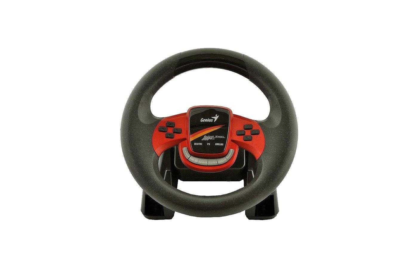 Руль Genius Twin Wheel FX с виброотдачей