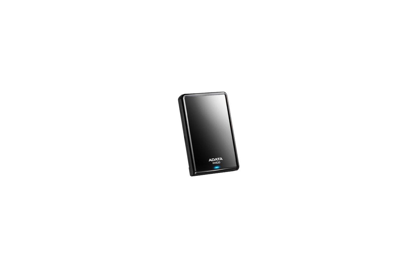 Внешний жесткий диск USB 3.0 A-Data AHV620-1TU3-CBK 1TB DashDrive HV620 Black