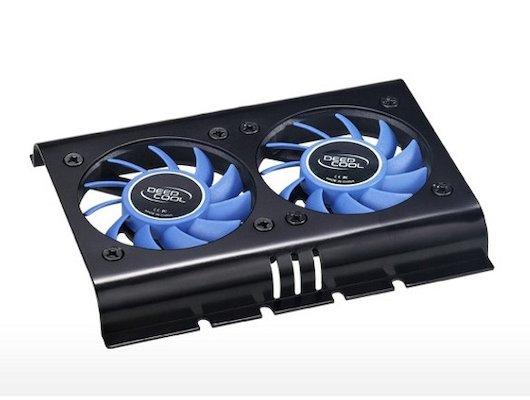 Охлаждение Deepcool ICE DISK 2 3pin 28dB Al 127g винты RTL для HDD