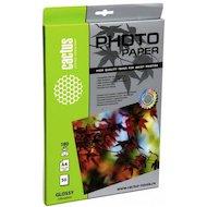 Фото Фотобумага Cactus CS-GA418050E A4/180г/м2/50л./белый глянцевое для струйной печати
