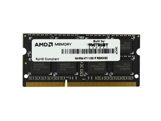 Оперативная память AMD R538G1601S2S-UO OEM PC3-12800 DDR3 8Gb 1600MHz CL11 SO-DIMM