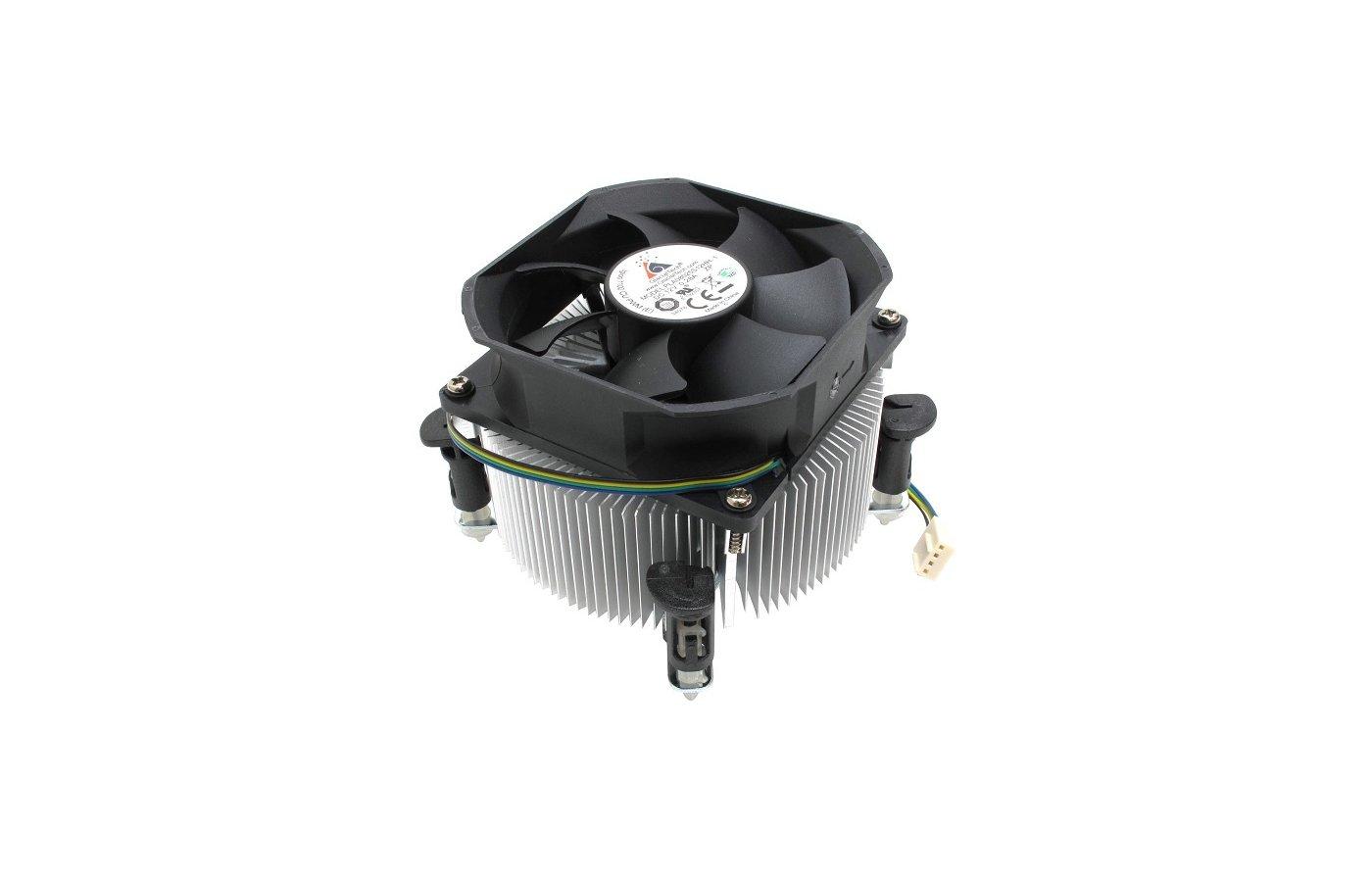 Охлаждение Glacialtech Igloo 1100 PWM Soc-1150/1155/1156/ 4pin 15-38dB Al 95W 380g клипсы BULK