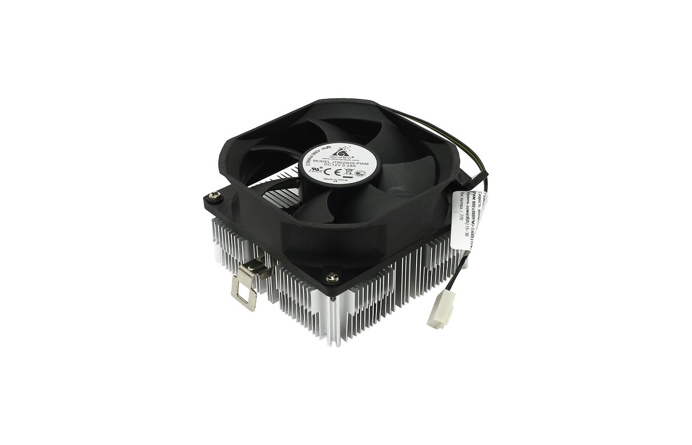 Охлаждение Glacialtech Igloo A360 PWM Soc-AMD/ 4pin 15-38dB Al 100W 270g скоба BULK