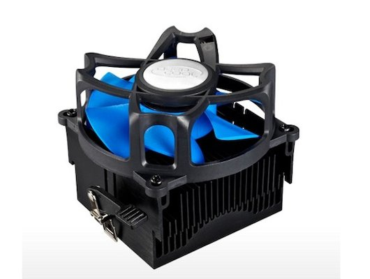 Охлаждение Deepcool BETA 40 Soc-FM2/FM1/AM3+/AM3/AM2+/AM2 3pin 25dB Al+Cu 95W 348g скоба