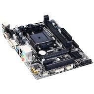 Фото Материнская плата Gigabyte GA-F2A68HM-DS2 Soc-FM2+ AMD A68H 2xDDR3 mATX AC`97 8ch(7.1)