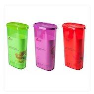 Фото контейнеры для продуктов Plastic Centre ПЦ2229 Банка для сыпучих продуктов Galaxy 2.4л