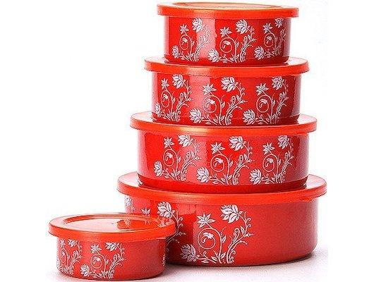 контейнеры для продуктов Mayer Boch 21524 Набор мисок 10пр
