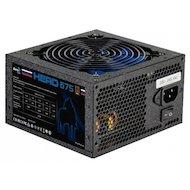 Фото Блок питания Aerocool ATX 650W Hero 675 80+ bronze (24+4+4pin) APFC 120mm fan blue LED 6xSATA RTL