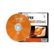 Фото DVD-диск DVD+R Mirex 4.7 Гб 16x Slim case (UL130013A1S)
