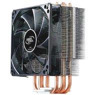Охлаждение Deepcool GAMMAXX 400 Soc-2011/1155/AM3/FM1/FM2 4pin 21-32dB Al+Cu 130W 709g голубой LED