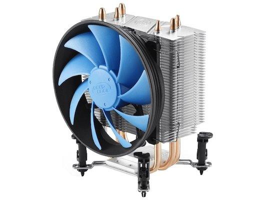 Охлаждение Deepcool GAMMAXX 300 Soc-1150/1155/1156/AM3+/FM1/FM2 4pin 18-21dB Al+Cu 130W 473g клипсы