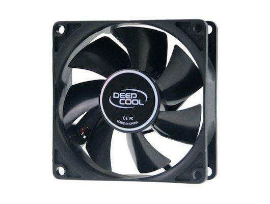 Охлаждение Deepcool XFAN 80 80x80x25 4-pin (Molex) 20dB 82gr Ret