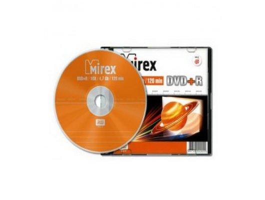 DVD-диск DVD+R Mirex 4.7 Гб 16x Slim case (UL130013A1S)