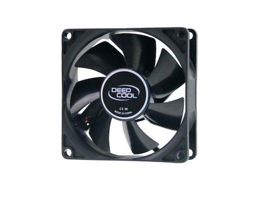 Охлаждение Deepcool XFAN 80 V2 80x80x25 3pin+4pin (molex) 20dB 80g BULK для корпуса