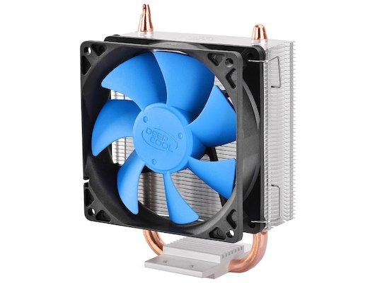 Охлаждение Deepcool ICE BLADE 100 Soc-AMD/1150/1155/1156/ 3pin 32dB Al+Cu 95W 390g клипсы RTL