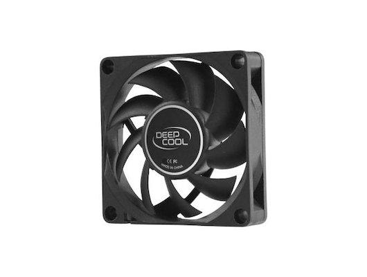 Охлаждение Deepcool XFAN 70 70x70x15 3pin+4pin (molex) 27dB 50g BULK для корпуса