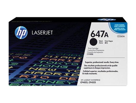 Картридж лазерный HP 647A CE260A черный (8500стр.)
