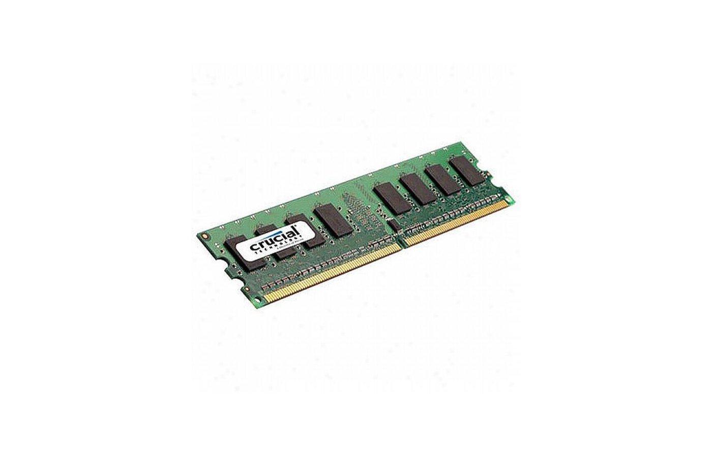 Оперативная память Crucial CT25664AA800 RTL PC2-6400 DDR2 2Gb 800MHz CL6