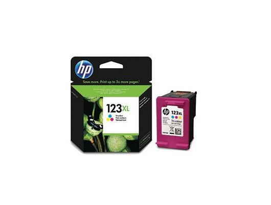 Картридж струйный HP 123XL F6V18AE многоцветный