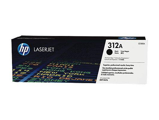 Картридж лазерный HP 312A CF380A черный для HP CLJ Pro M476 (2400стр.)