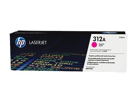 Картридж лазерный HP 312A CF383A пурпурный для HP CLJ Pro M476 (2400стр.)