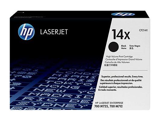 Картридж лазерный HP 14X CF214X черный для HP 700/M712 (17500стр.)