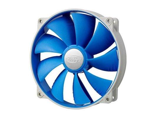 Охлаждение Deepcool UF 140 140x140x25 4pin 18-27dB 700-1200rpm 167g anti-vibration для корпуса